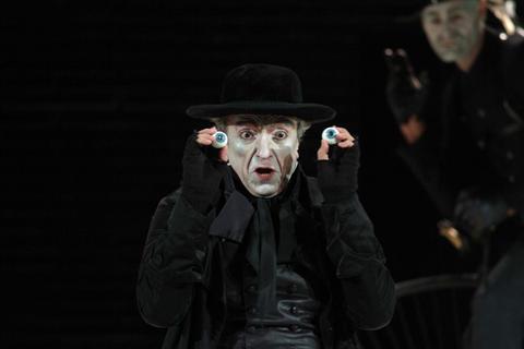 Raimondi as Coppélius